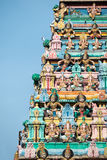 Indian Temple in Singapore Stock Image