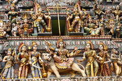 Indian Temple - Singapore Royalty Free Stock Images