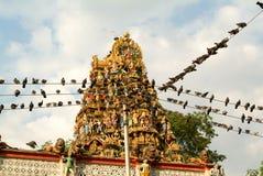 The indian temple of Sri Kali at Yangon Stock Photo