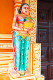 Indian temple statue series Royalty Free Stock Photos