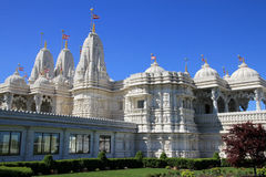 Indian Temple in Toronto. Indian temple Shri Swaminarayan Mandir in Toronto, Canada stock photography