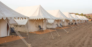 Indian tent Camp Stock Images