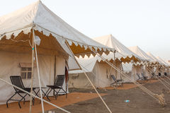 Indian tent Camp Stock Image