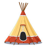 Indian tent Stock Photography