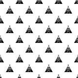 Indian tent pattern vector seamless. Repeating for any web design Stock Photography
