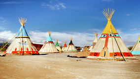 Indian Tents stock photos