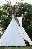 Indian Tepee on plains Royalty Free Stock Images