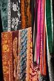 Indian textile Royalty Free Stock Images