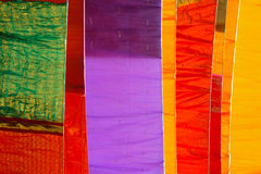 Indian Textiles. Royalty Free Stock Photo