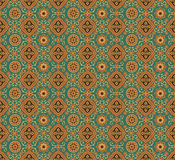 Indian texture seamless. Seamless indian wallpaper pattern texture Royalty Free Stock Images