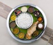 Indian Thali Stock Image