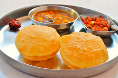 Indian Thali closeup view Royalty Free Stock Photography