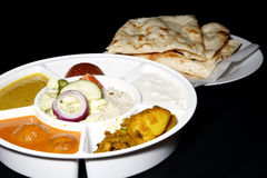 Indian thali combo Royalty Free Stock Photography