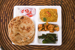 Indian Thali Stock Images