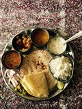 Indian Thali Royalty Free Stock Images