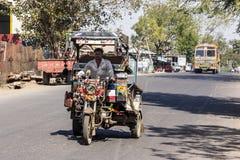 Indian three-wheeler Stock Photography