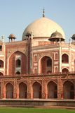 Indian tomb. Humayans Tomb in Delhi, India Royalty Free Stock Images