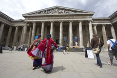 Indian Tourists in London stock image