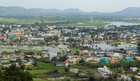 Indian town Stock Photo