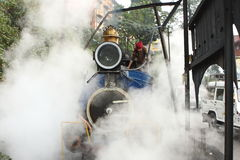 Indian Toy Train Royalty Free Stock Photography