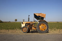 Indian tractor with canopy Stock Photography