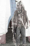 Mountain Man. Indian Trader costume original of Indian and cowboy culture in the 1800`s Mountain Men Royalty Free Stock Image
