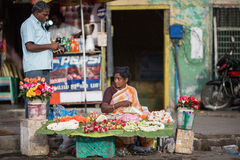 Indian trader Royalty Free Stock Images