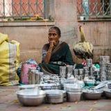 Indian trader Royalty Free Stock Photo