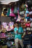 Indian trader Stock Image