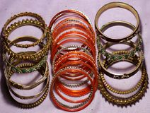 Indian traditional bangles royalty free stock image
