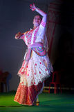 Indian traditional classical dance Royalty Free Stock Images