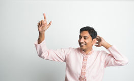 Indian in traditional clothes Stock Photography