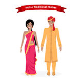 Indian Traditional Clothes People Stock Photos