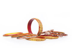 Indian Traditional colourful Bangles Royalty Free Stock Images