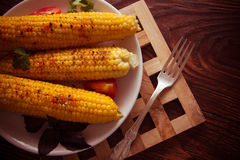 Indian traditional corn royalty free stock photo
