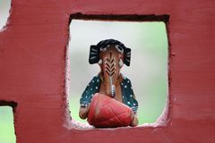 Indian traditional crafts Stock Photography