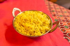 Indian Traditional Cuisine 01 royalty free stock photo