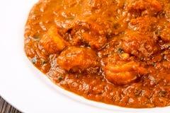 Prawn masala. Indian traditional cuisine - Prawn masala spicy Stock Photos