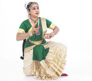 Indian traditional female dancer Stock Photo