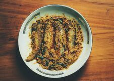 Indian Traditional Fish Curry in Mustard Sauce
