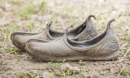 Mojari Shoes Royalty Free Stock Photography