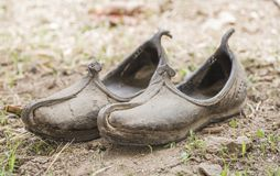 Mojari Shoes Stock Photography