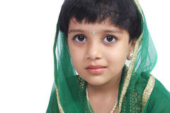 Indian Traditional Girl Royalty Free Stock Photo