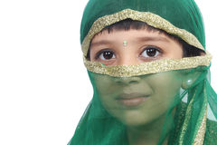 Indian Traditional Girl Stock Image
