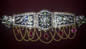 Indian traditional jewellery Royalty Free Stock Image