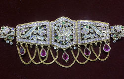 Indian traditional jewellery Royalty Free Stock Photos