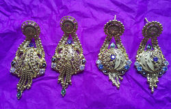 Indian traditional jewellery Stock Photography