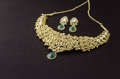 Indian Traditional Jewellery Royalty Free Stock Photography