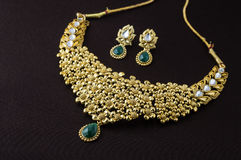 Indian Traditional Jewellery Stock Photos