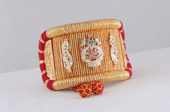 Indian traditional jewelry Royalty Free Stock Images